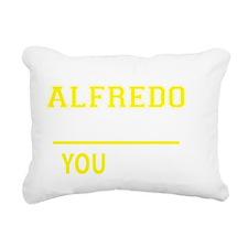 Cool Alfredo Rectangular Canvas Pillow