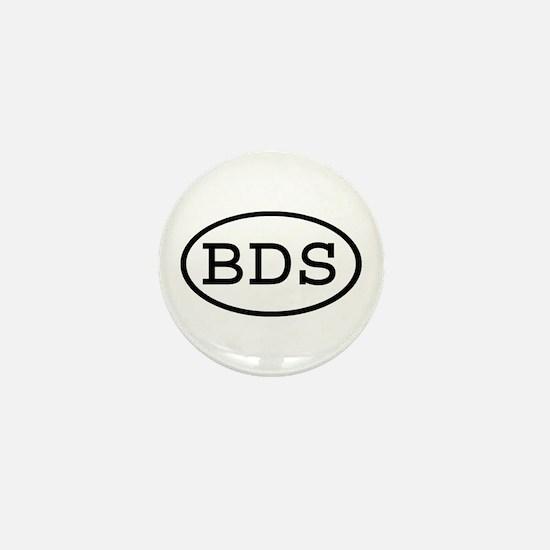 BDS Oval Mini Button
