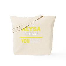 Cute Alysa Tote Bag