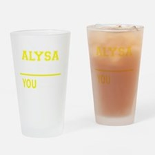 Cool Alysa Drinking Glass