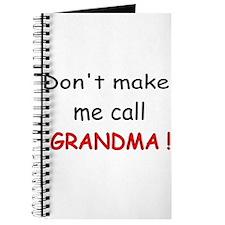call GRANDMA! Journal