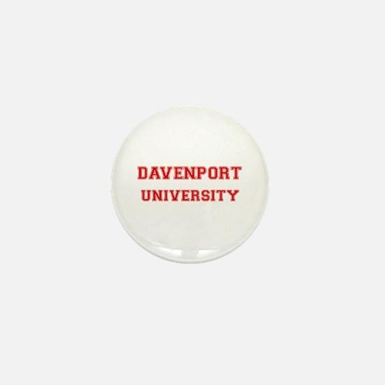 DAVENPORT UNIVERSITY Mini Button