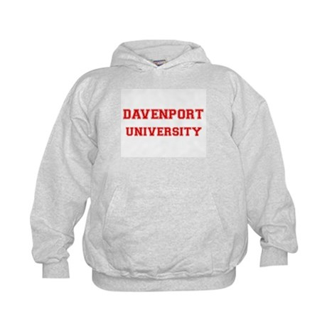 DAVENPORT UNIVERSITY Kids Hoodie
