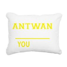 Cute Antwan Rectangular Canvas Pillow