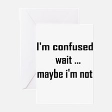 I'm confused Greeting Cards (Pk of 10)