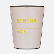 Funny Athena Shot Glass