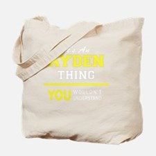 Cute Ayden Tote Bag
