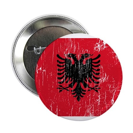 """Vintage Albania 2.25"""" Button (10 pack)"""