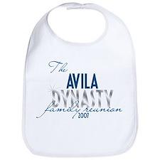 AVILA dynasty Bib