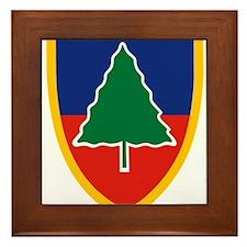 91st Division Training.png Framed Tile