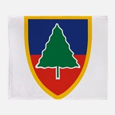 91st Division Training.png Throw Blanket