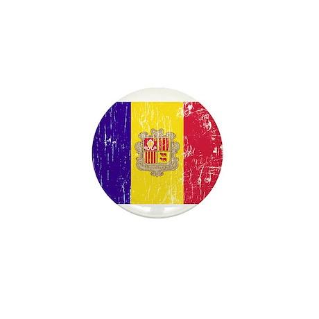 Vintage Andorra Mini Button