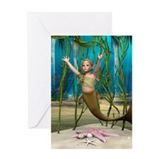 Little Mermaid Greeting Cards