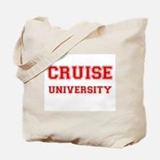 CRUISE UNIVERSITY Tote Bag