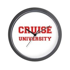 CRUISE UNIVERSITY Wall Clock