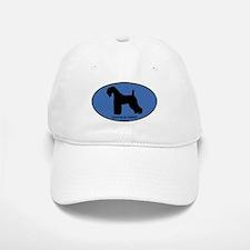 Kerry Blue Terrier (oval-blue Baseball Baseball Cap