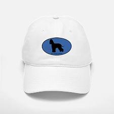 Irish Water Spaniel (oval-blu Baseball Baseball Cap