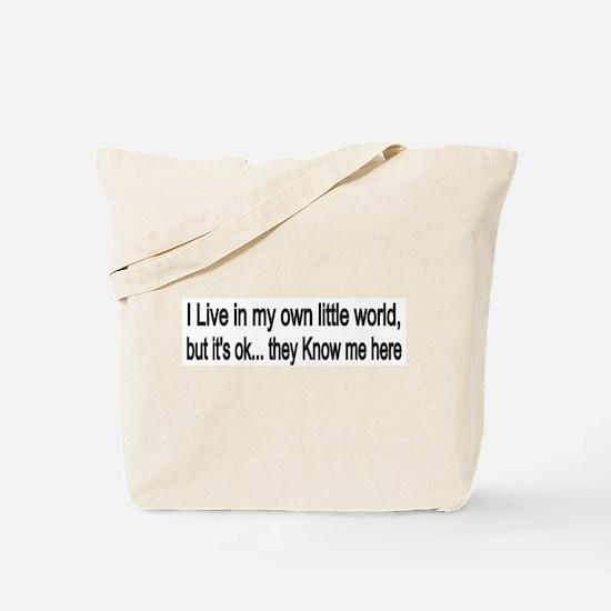 little world Tote Bag