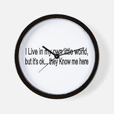 little world Wall Clock