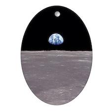 Earthrise Apollo 11 Space Christmas Tree Ornament