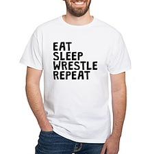 Eat Sleep Wrestle Repeat T-Shirt