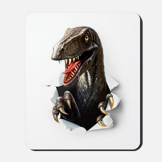 Velociraptor Dinosaur Mousepad