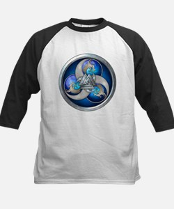 Blue Norse Triple Dragons Tee
