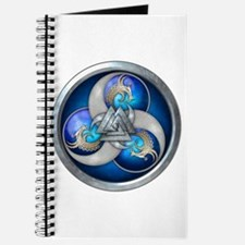 Blue Norse Triple Dragons Journal