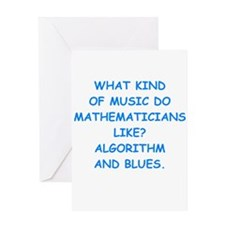 math Greeting Cards