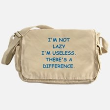 lazy Messenger Bag