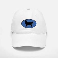 Golden Retriever (oval-blue) Baseball Baseball Cap