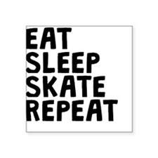 Eat Sleep Skate Repeat Sticker