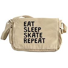 Eat Sleep Skate Repeat Messenger Bag