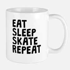 Eat Sleep Skate Repeat Mugs