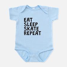 Eat Sleep Skate Repeat Body Suit