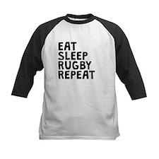 Eat Sleep Rugby Repeat Baseball Jersey