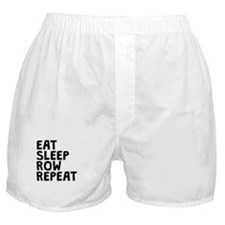 Eat Sleep Row Repeat Boxer Shorts