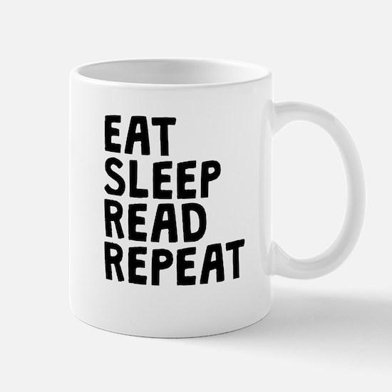 Eat Sleep Read Repeat Mugs