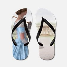 Victorian woman  Flip Flops