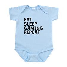 Eat Sleep Gaming Repeat Body Suit