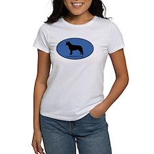 Australian Cattle Dog (oval-b Tee