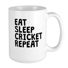 Eat Sleep Cricket Repeat Mugs