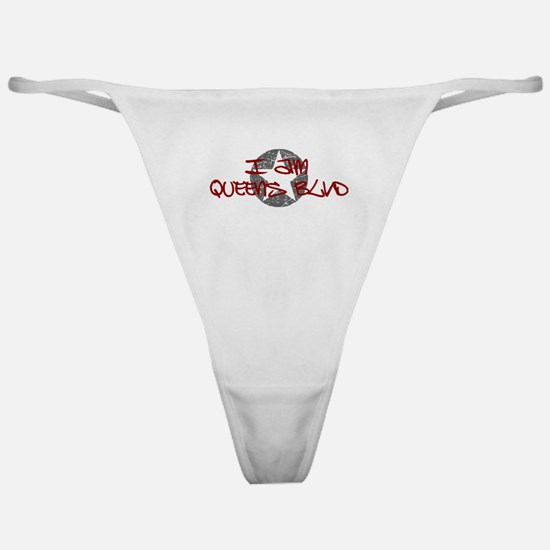 I am Queens Blvd - Red Classic Thong