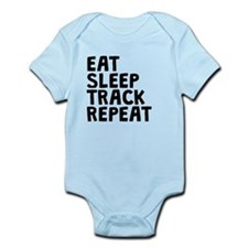 Eat Sleep Track Repeat Body Suit