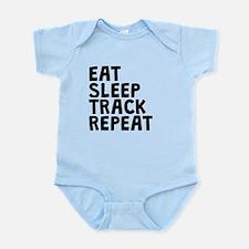 Eat Sleep Track Repeat Body Suit
