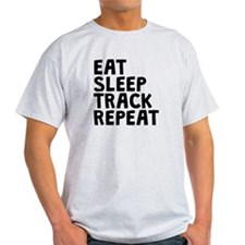 Eat Sleep Track Repeat T-Shirt