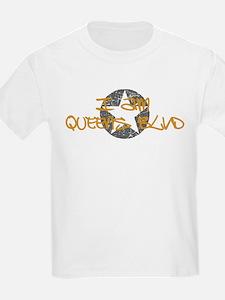 I am Queens Blvd - Gold T-Shirt