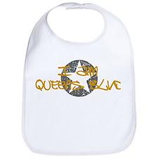 I am Queens Blvd - Gold Bib