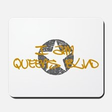I am Queens Blvd - Gold Mousepad