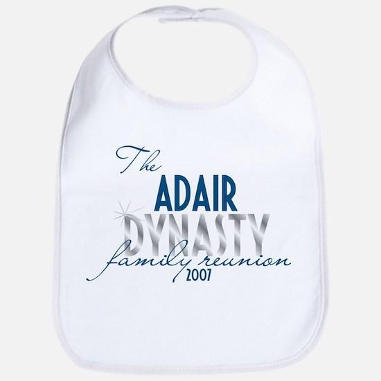 ADAIR dynasty Bib